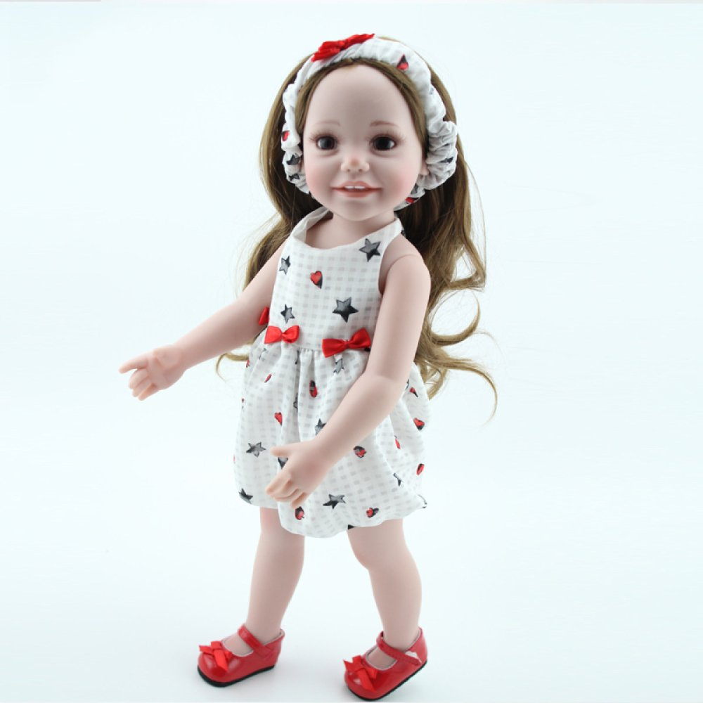 con 60% de descuento YIHANGG YIHANGG YIHANGG Cuerpo De Silicona De Vinilo Completo Reborn Dolls Kids Toy Sleeping Girl Mejor Regalo para Navidad 18 Pulgadas 45cm  edición limitada en caliente