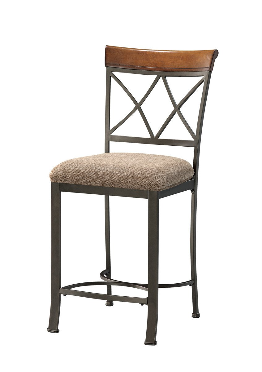 Sensational Amazon Com Furnituremaxx Hampton Metal Stationary Counter Dailytribune Chair Design For Home Dailytribuneorg