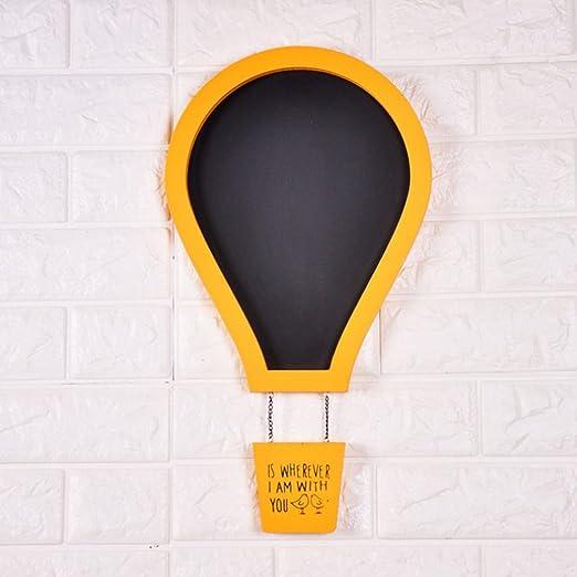 dovewill balloon-shaped pizarra cartel pizarra de techo ...
