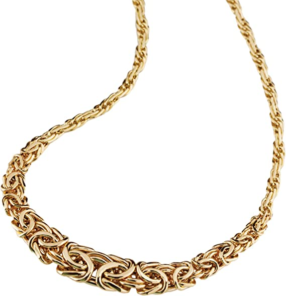 FB Jewels 14K Yellow Gold Rope Infinity-Inspired Necklace