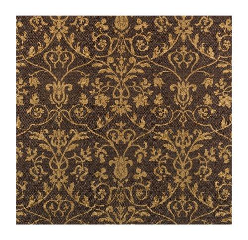 UPC 034878374130, York Wallcoverings 660603 Peacock Tail Wallpaper, Silver Metallic/Black
