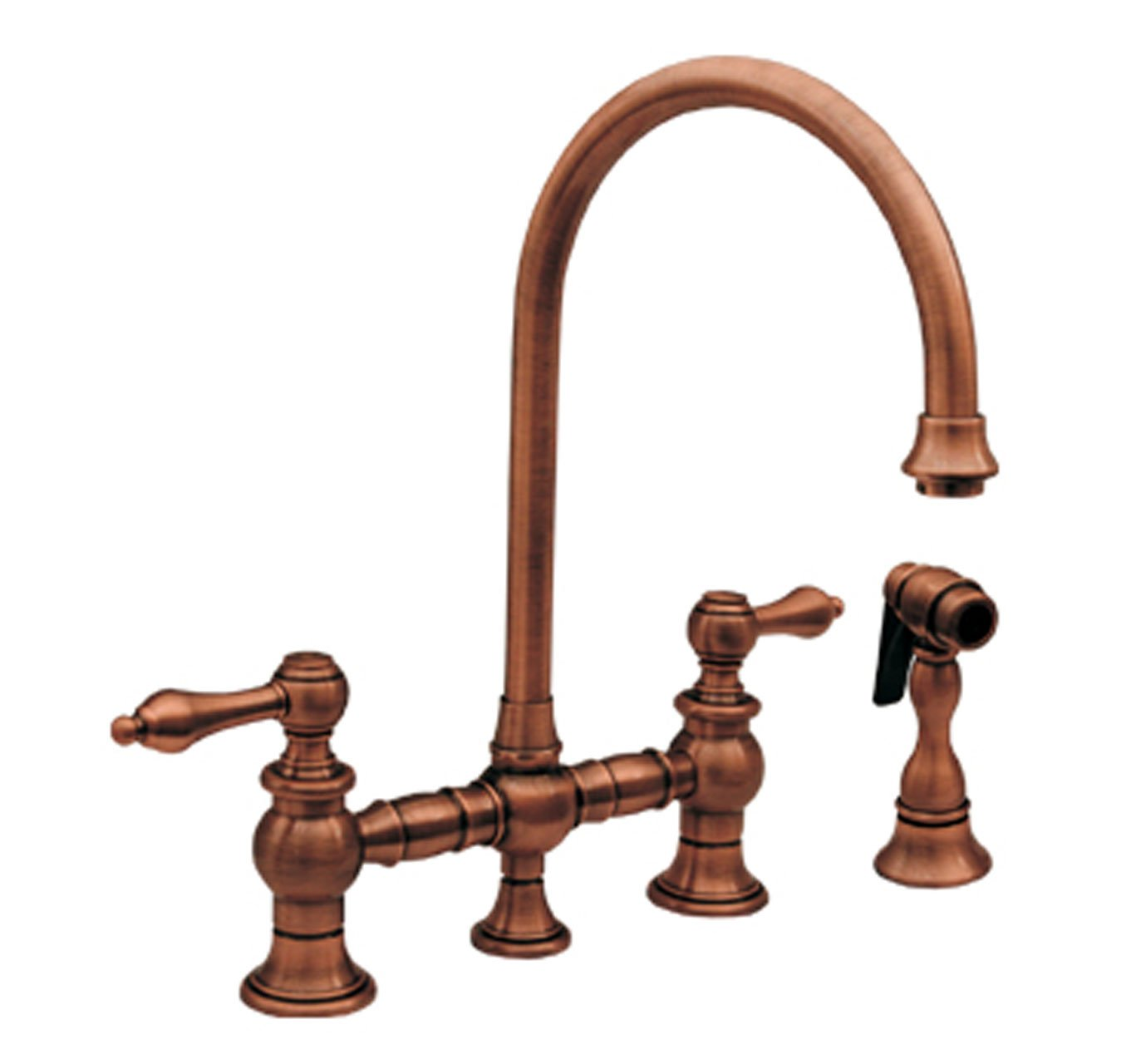 ideas discount with upper kitchen polishedchrome images antique style spray kohler without faucet prep best kitchens brushed sink copper side whitehaus hole vintage charming faucets finish taps tap
