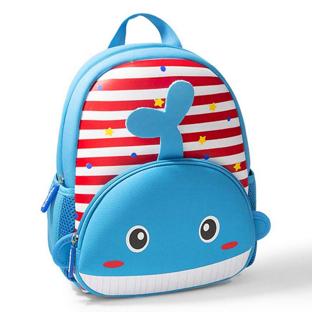 Toddler Backpack, Waterproof Children School Backpack, Neoprene Animal Schoolbag for Kids, Lunch Box Carry Bag for Boys Girls, Unicorn