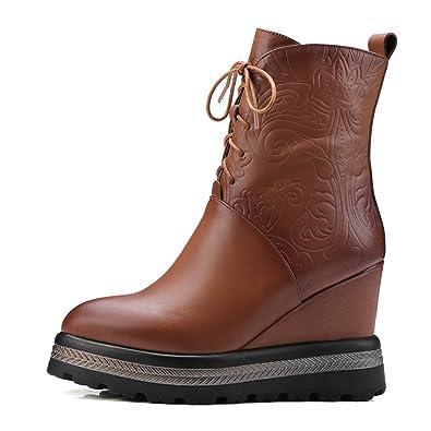 Stivali da Donna Autunno E Inverno Stivali di Pizzo di