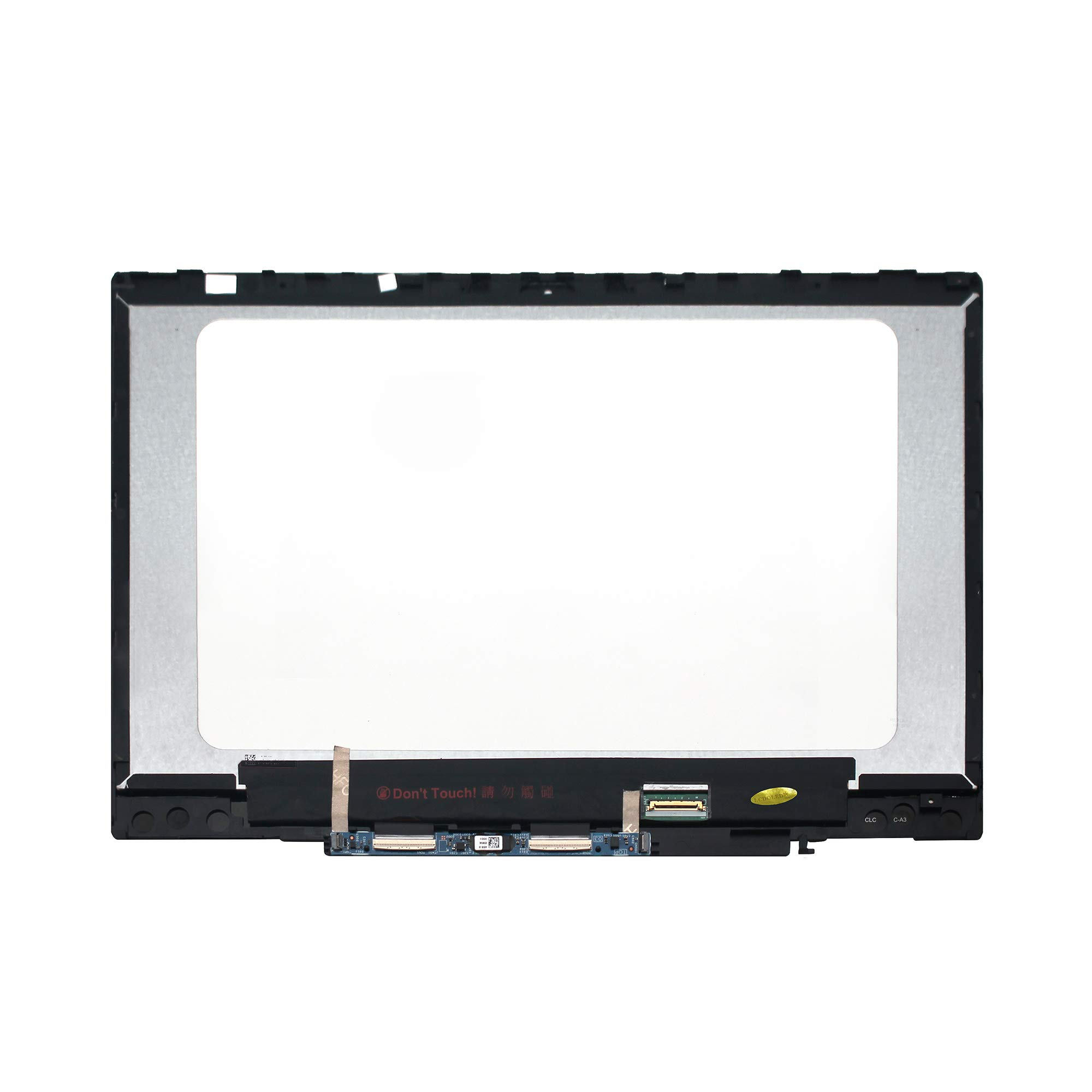 LCDOLED 14.0'' 1920x1080 IPS LCD Display Touch Screen Digitizer Assembly + Bezel + Board Replacement for HP Pavilion x360 14m-cd0000 14-cd0011nr 14m-cd0001dx 14m-cd0003dx 14m-cd0005dx 14m-cd0006dx by LCDOLED (Image #2)