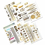 Best Metallics - Metallic Temporary Tattoos, PrettyDate 150+ Henna & Boho Review