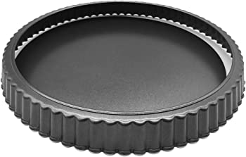 HOMOW Heavy Duty 10 Inches Tart Pan