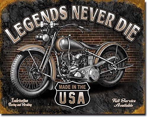 Legends Never Die MADE IN THE USA MOTORCYCLES 12.5