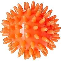 Massagebal, oranje, diameter 6 cm, therapeutisch handmassageapparaat, stressbal, bloedcirculatie, zacht, verlicht…