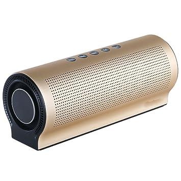 DUHOULI Altavoz inalámbrico Bluetooth Shocking Bass Sound caixa de som Altavoces de Columna Multimedia Soporte TF