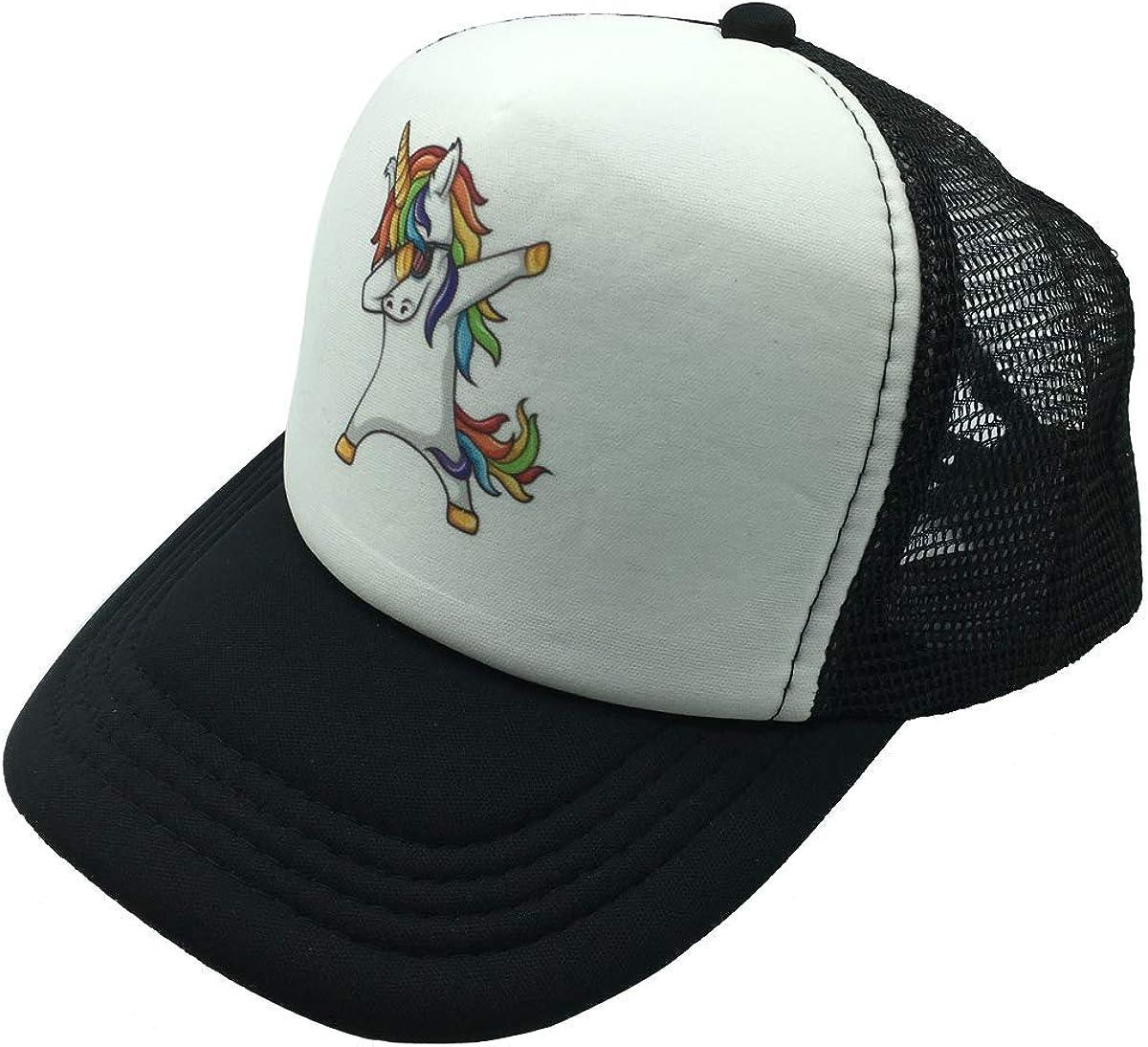 NVJUI JUFOPL Boys and Girls Kids Baseball Cap Mesh Back Snapback Trucker Hats