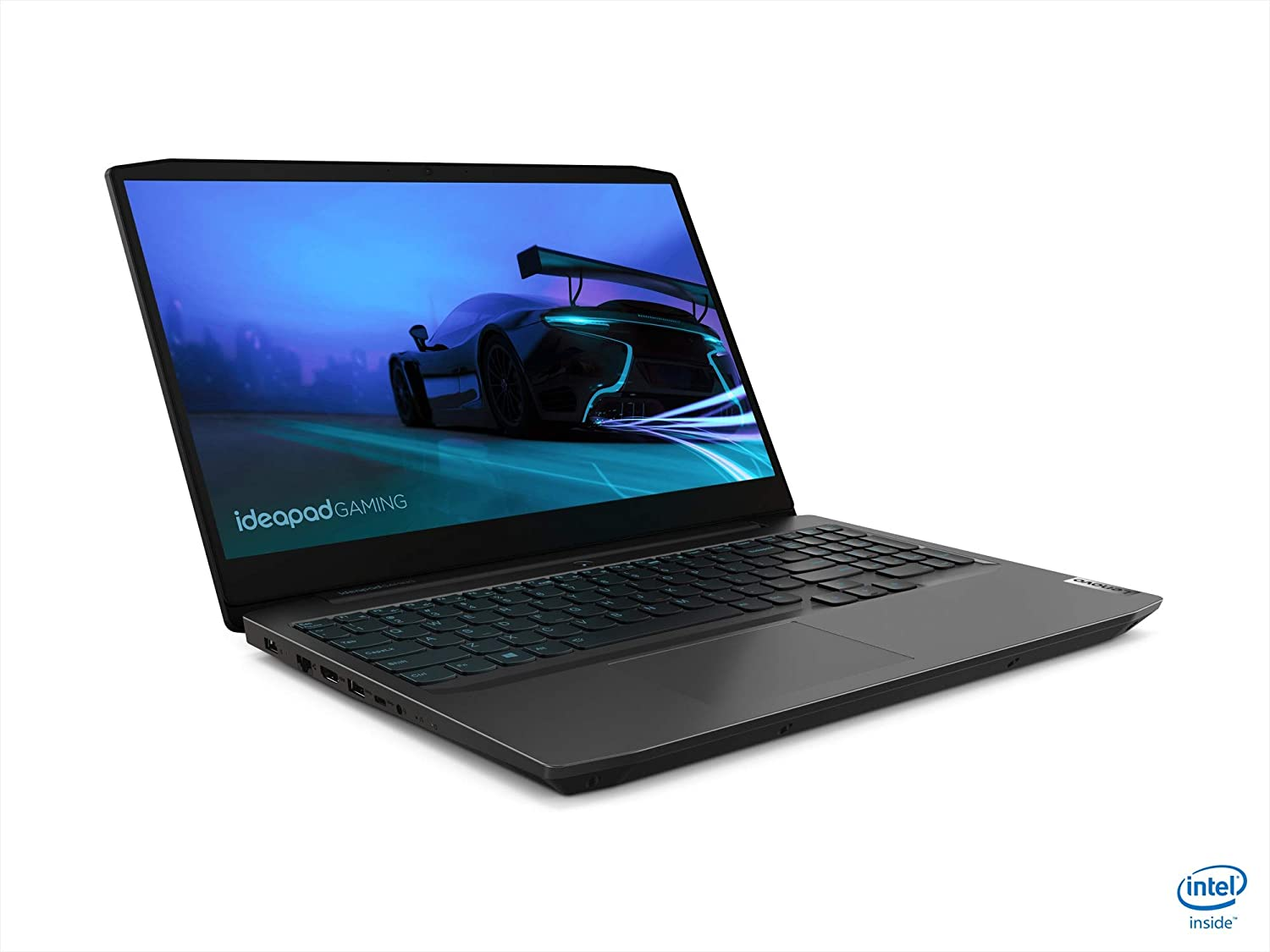 "Lenovo IdeaPad Gaming 3 15.6"" Gaming Laptop 120Hz i5-10300H 8GB RAM 256GB SSD GTX 1650 4GB Onyx Black - 10th Gen i5-10300H Quad-Core - NVIDIA GeForce GTX 1650 4GB GDDR6 - 120Hz Refresh Rate - in-"