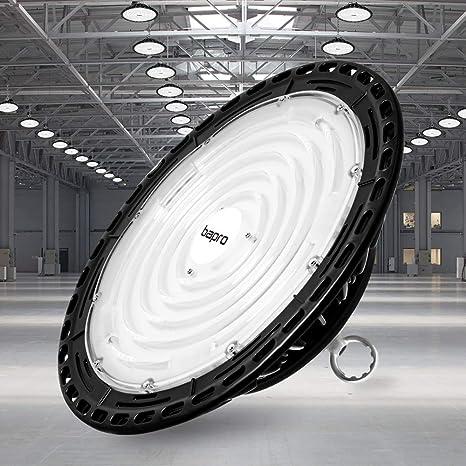 300W UFO LED Hallenbeleuchtung Industrielampe High bay Hallenstrahler Kaltweiß