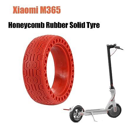 Konesky Honeycomb Caucho Neumático Sólido, 8,5 Pulgadas ...