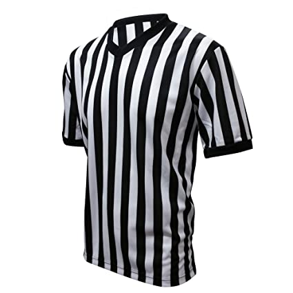 3b5e31a208c Winners Sportswear Official V-Neck Striped Referee Jersey (Small (Adult))