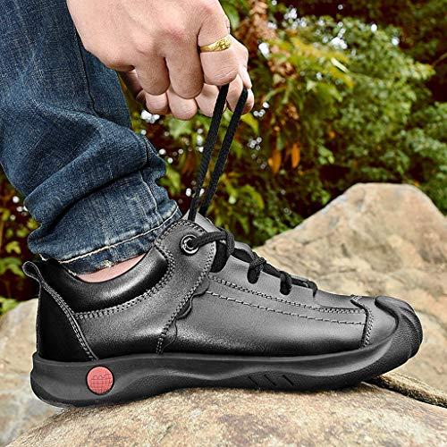 Salvaje Hombres Desgaste La Libre Superior Deportivos Capa Los Zapatos Aire Flujo Cuero De Marea Al A Senderismo BwE1TqPx
