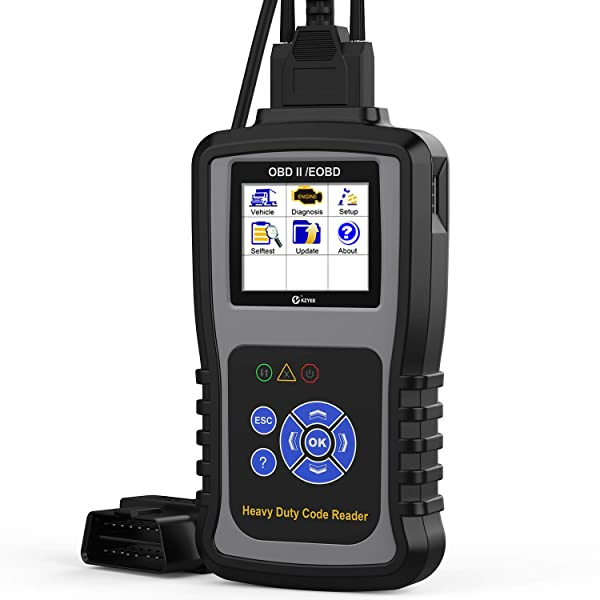 Kzyee KC601 Heavy Duty Truck Scan Tool