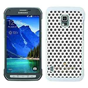 customized Samsung Galaxy S5 Active Case Cover, Fashion Stylish DIY Kate Spade 77 White Case Cover For Samsung Galaxy S5 Active