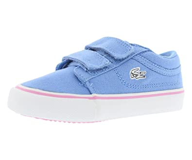 606cdfb40ce87 Lacoste Infant Vaultstar PPG Sneakers in Blue 7 M US