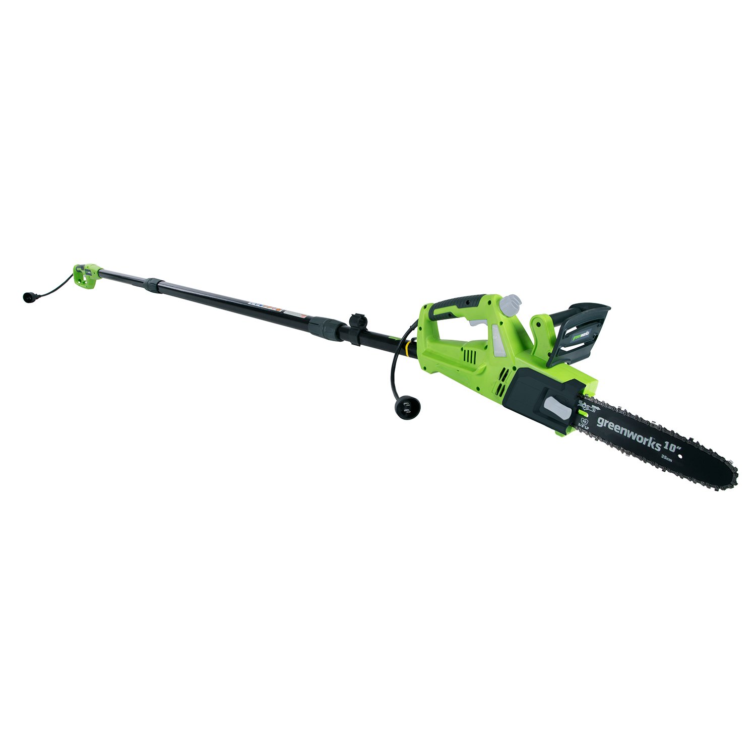 Greenworks 9.3' 6 Amp Corded Chainsaw with Pole Saw Attachment PSCS06B00