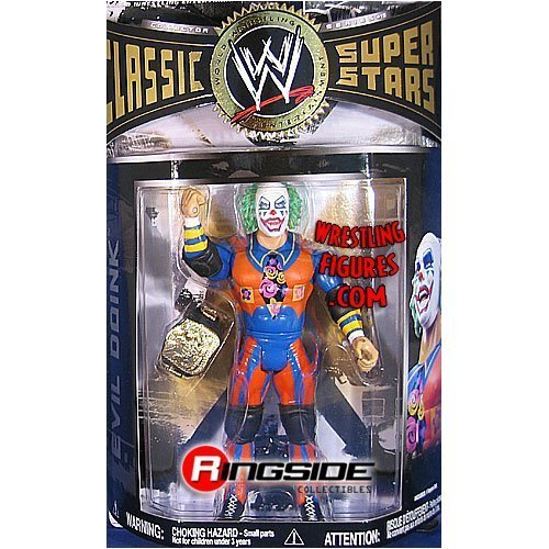 WWE Wrestling Classic Superstars Series 19 Action Figure Doink toys [parallel import goods] by Jakks Pacific