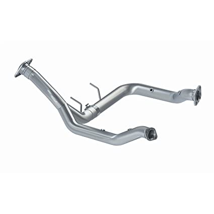 Mbrp Cfgal020 3 Y Pipe Without Catalytic Converters Aluminum 2015 2018 Ford F150 V6 Ecoboost Excluding Raptor