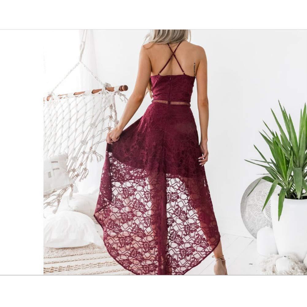 HACR Vestiti Gonne Estate Eleganti Stampa Slim Vestito da Donna Casual Gonne