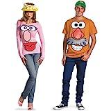 Disguise Women's Hasbro Game Mr. Mrs. Potato Head Costume Kit