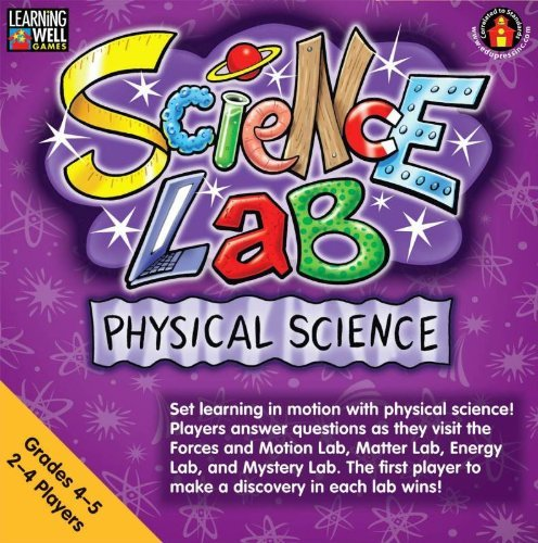SCIENCE LAB PHYSICAL SCIENCE GR 4-5 by Edupress