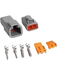 MSD Ignition 8184 2-Pin Deutsch Connector