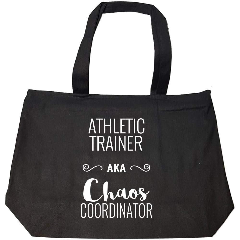 Fashion Zip Tote Bag Athletic Trainer AKA Chaos Coordinator