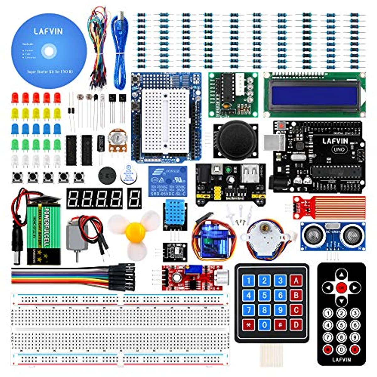 electronic project starter kit beginners uno r3 board diy arduinodetails about electronic project starter kit beginners uno r3 board diy arduino lcd 1602 servo