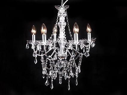 Livitat® Kronleuchter Lüster Kristall Leuchter 50 cm LV3021: Amazon ...