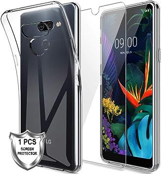 MP-MALL Funda para LG K50, Carcasa Cubierta Caucho Suave TPU ...