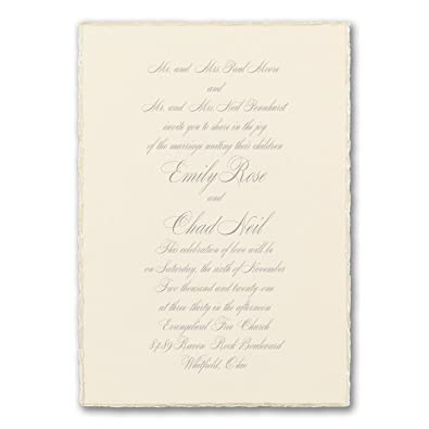 Amazon Com 175pk Sophisticated Edges Invitation Shop All