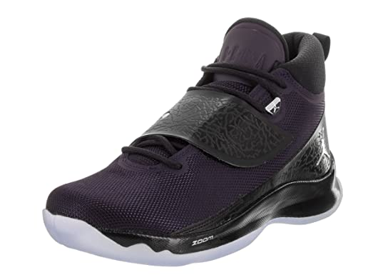Nike Men's Super.Fly 5 PO Purple Dynasty/Mtllc Silver/Dynsty Vlt Basketball Shoe 10.5 Men US