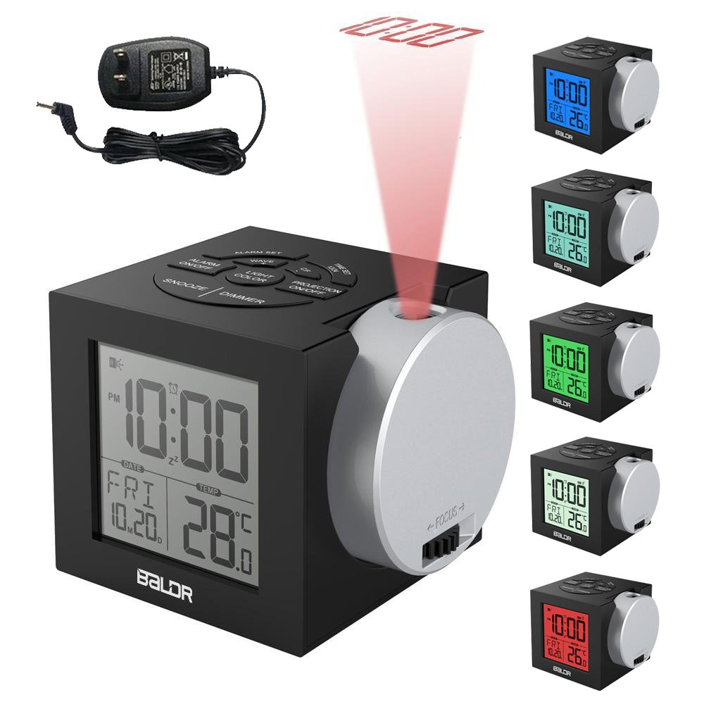 Alarm Clocks Time Projection New Clock On Ceiling Wall