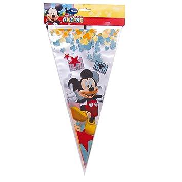 Mickey Mouse - Pack de 10 bolsas cono con estrellas Maxi ...