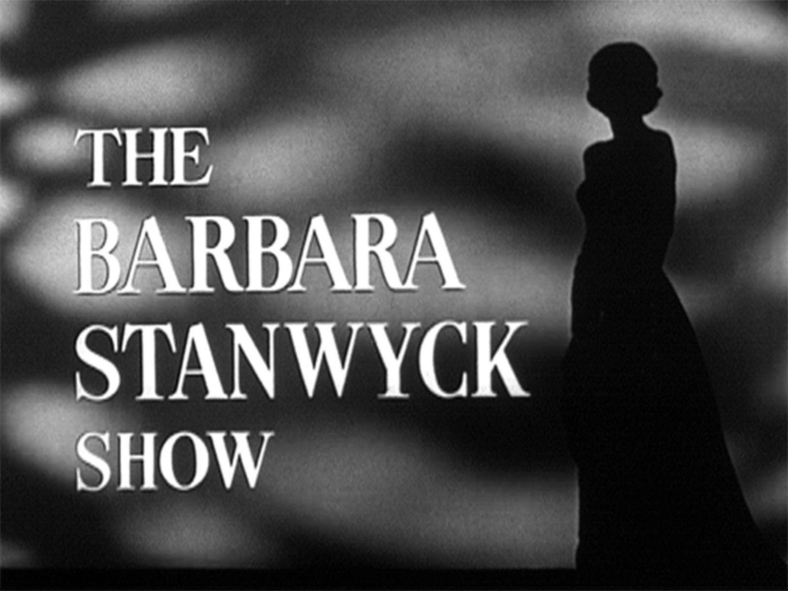The Barbara Stanwyck Show on Amazon Prime Video UK