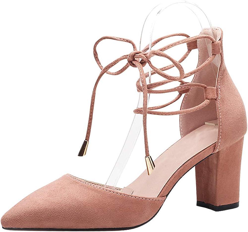 Gtagain Femme Chaussures habillées Sandales Escarpins