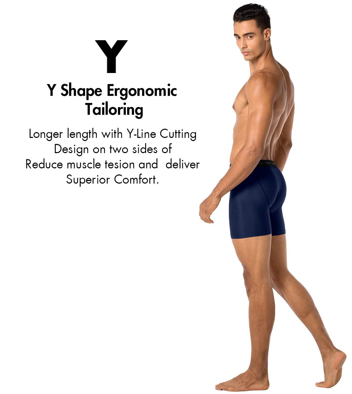 LAPASA 2 Pack Mens Underwear Mesh Sports Underwear Men Boxers Shorts Quick Dry Odor Resistant Underpants Breathable Boxers M16