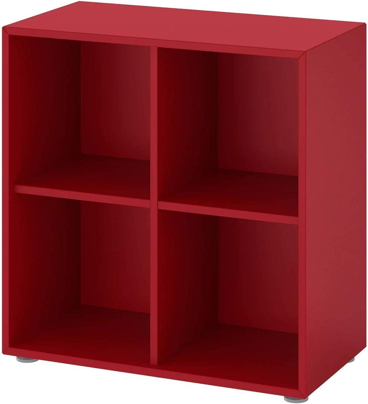 Ik ea EKET - Estantería con patas, color rojo, 70 x 35 x 72 ...