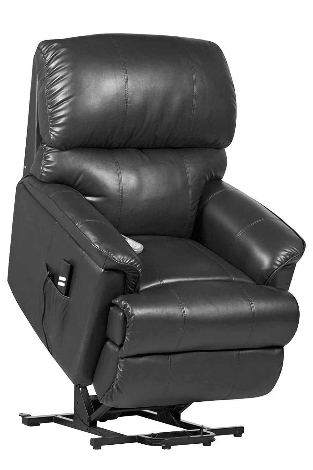 Canterbury Dual motor Leather Electric Riser Recliner Chair with heat and massage - 3 colours (Black) rise and recline Amazon.co.uk Health \u0026 Personal Care  sc 1 st  Amazon UK & Canterbury Dual motor Leather Electric Riser Recliner Chair with ... islam-shia.org