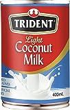 Trident Light Coconut Milk, 400 ml
