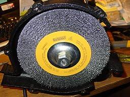 Amazon Com Dewalt Dw4905 6 Inch Crimped Bench Wire Wheel