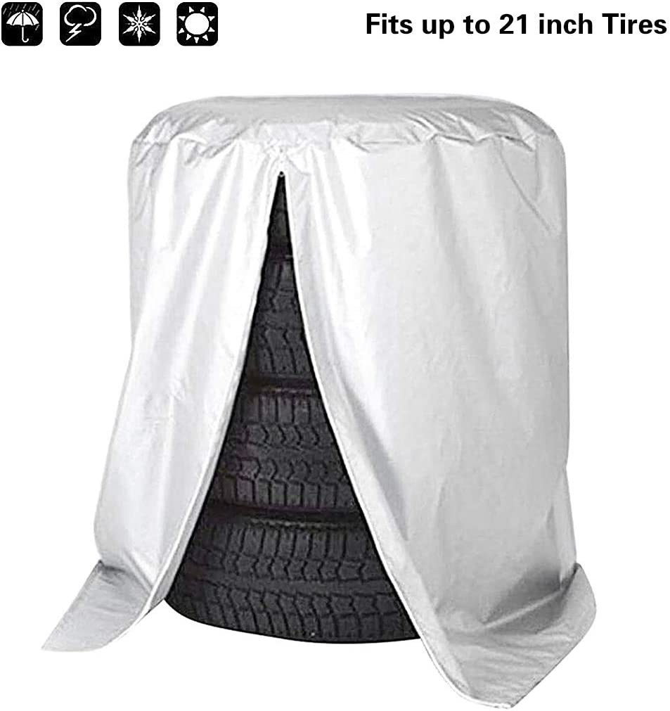 Queta Reifentasche Wasserdicht Reifen Tasche Autor/ädertaschen Reifenabdeckung Auto Reifen Taschen Reifenschutz f/ür Reifentypen bis 21 Zoll Durchmesser