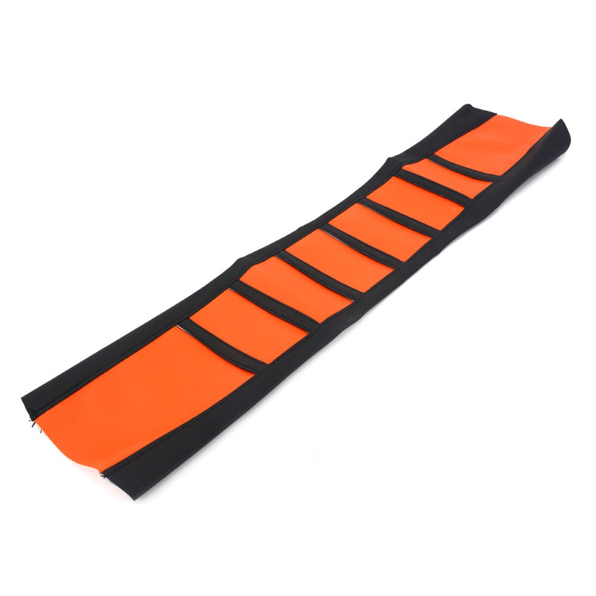 Alamor Universal Soft Gripper Funda De Asiento De Motocicleta Costilla De Caucho Dirt Bike Enduro-Orange