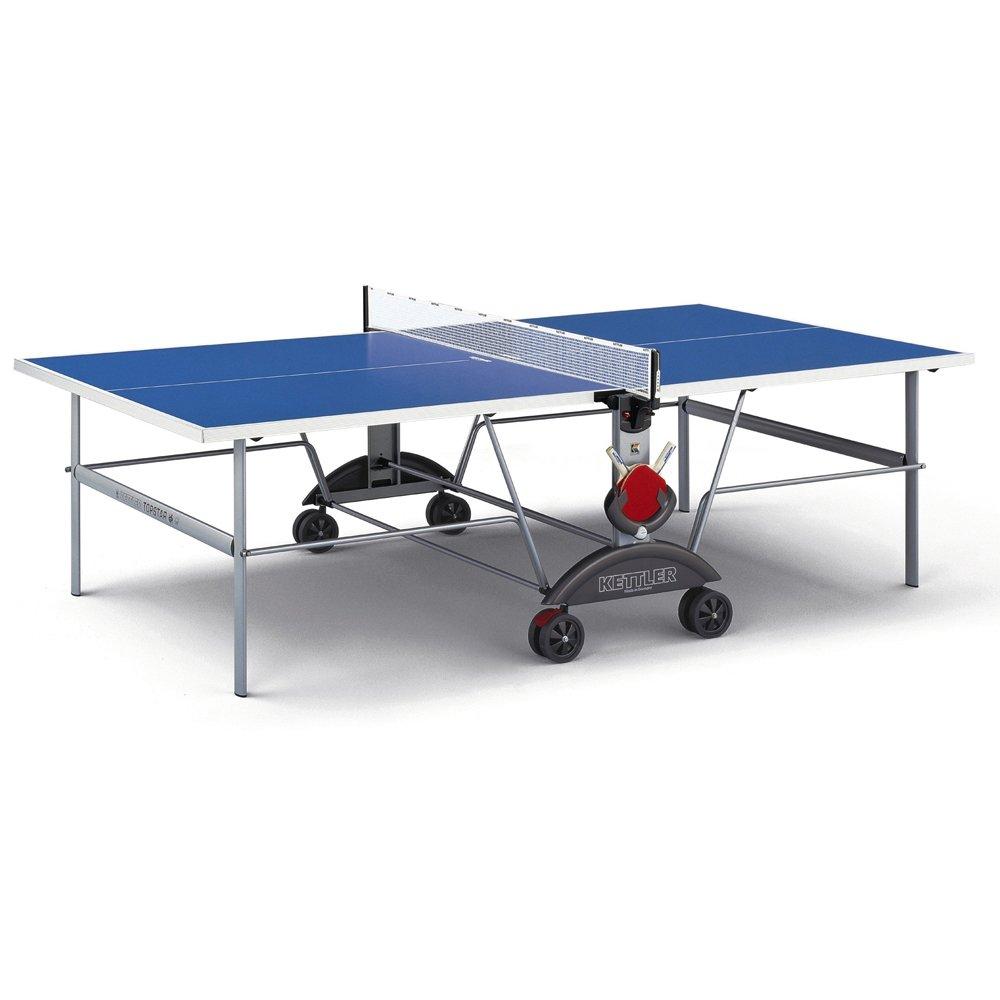 Kettler Top Star XL Indoor/Outdoor Table Tennis Table, Blue Top