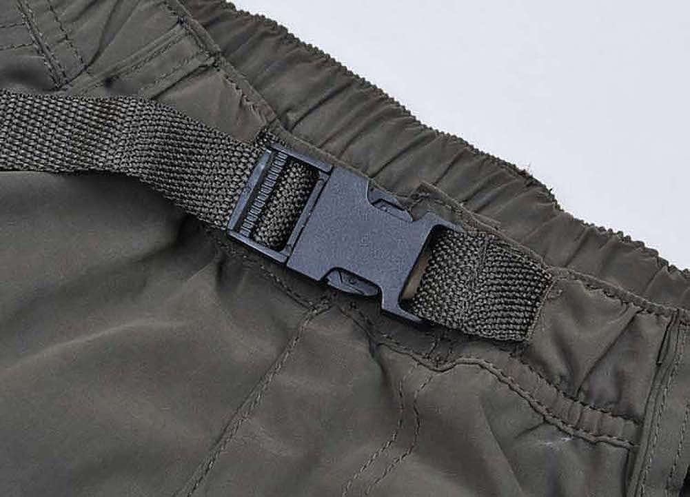 Aiya Mens Classic Straight Leg Multi Pocket Ripstop Cargo Pants
