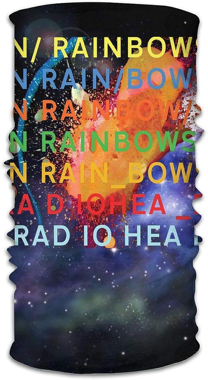 MathewAARice Radiohead In Rainbows Trend Unisex Variety Double-sided Bandanas